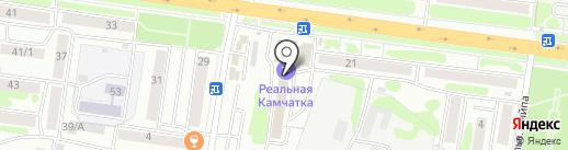 Камчатский центр по выплате государственных и социальных пособий, КГКУ на карте Петропавловска-Камчатского