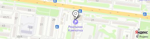 Камчатка Трэвел Групп на карте Петропавловска-Камчатского