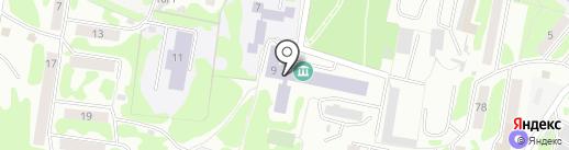 Институт вулканологии и сейсмологии ДВО РАН на карте Петропавловска-Камчатского