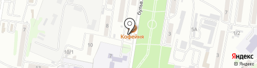 БорейКам на карте Петропавловска-Камчатского