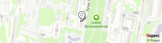 ROOM на карте Петропавловска-Камчатского