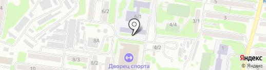 Средняя школа №36 на карте Петропавловска-Камчатского