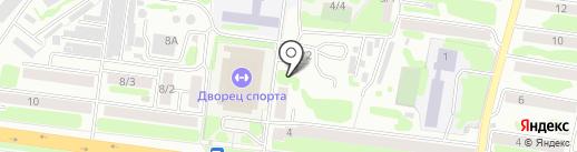 Шелонь на карте Петропавловска-Камчатского