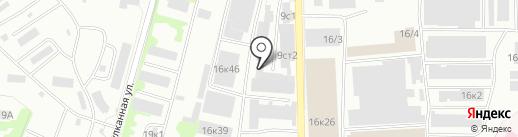 Шиномонтажная мастерская на карте Петропавловска-Камчатского