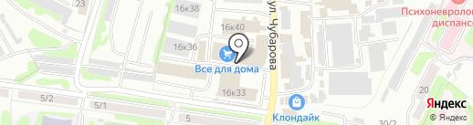 Уют на карте Петропавловска-Камчатского