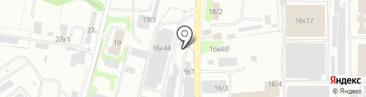 Магазин-склад на карте Петропавловска-Камчатского