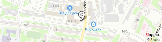 Восток-М на карте Петропавловска-Камчатского