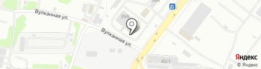 Автореаль на карте Петропавловска-Камчатского