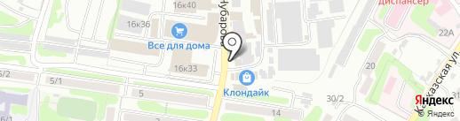 Мебельный рай на карте Петропавловска-Камчатского