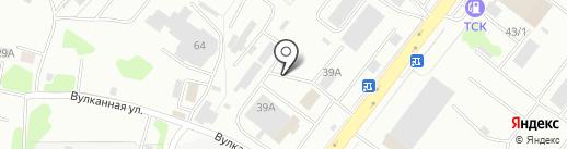 БиН-Строй на карте Петропавловска-Камчатского