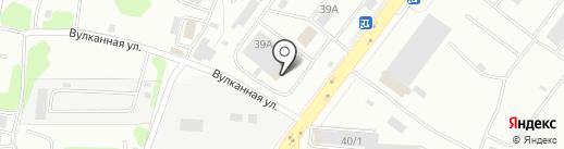 АльфаФото на карте Петропавловска-Камчатского