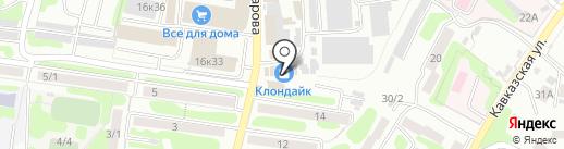 Элис на карте Петропавловска-Камчатского