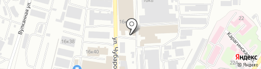 Экзотика-Трейдинг на карте Петропавловска-Камчатского