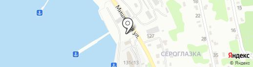 Северснаб на карте Петропавловска-Камчатского