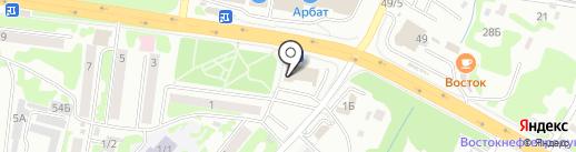 Шелковый путь на карте Петропавловска-Камчатского