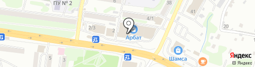 Интеграл-СБ на карте Петропавловска-Камчатского