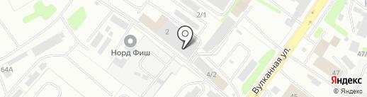 Траст-М на карте Петропавловска-Камчатского