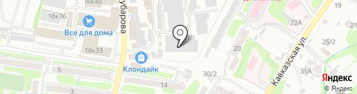 Азия на карте Петропавловска-Камчатского