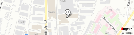 Сам Бери на карте Петропавловска-Камчатского