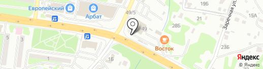 КМП на карте Петропавловска-Камчатского