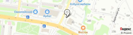 Шиномонтажный сервис на карте Петропавловска-Камчатского