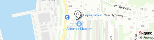 Салон-магазин штор на карте Петропавловска-Камчатского