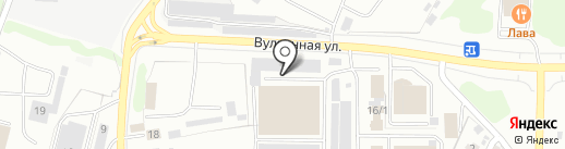 Нави-Авто на карте Петропавловска-Камчатского