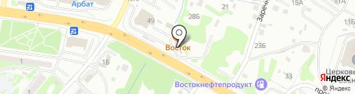 Элегант + на карте Петропавловска-Камчатского