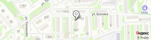 Отдел регистрационного учета населения №9 на карте Петропавловска-Камчатского