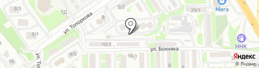 Энергия, ЗАО на карте Петропавловска-Камчатского
