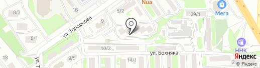КАМЭС-ОВК на карте Петропавловска-Камчатского