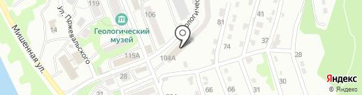 Камчатское управление государственного авиационного надзора на карте Петропавловска-Камчатского
