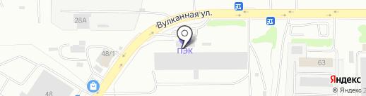 ВЛ Лоджистик на карте Петропавловска-Камчатского