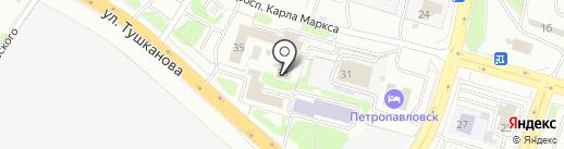 Государственный архив Камчатского края на карте Петропавловска-Камчатского