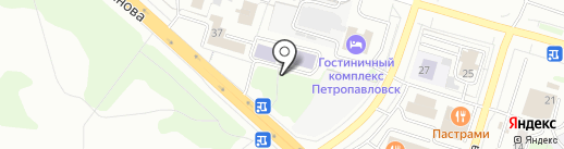 Канцелярские товары на карте Петропавловска-Камчатского