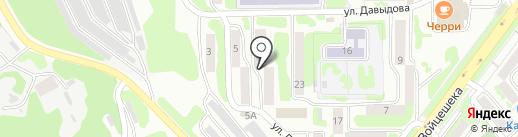 Камчатское юридическое бюро на карте Петропавловска-Камчатского