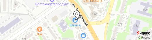 Служба по изготовлению ключей на карте Петропавловска-Камчатского