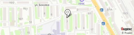 Антонина на карте Петропавловска-Камчатского