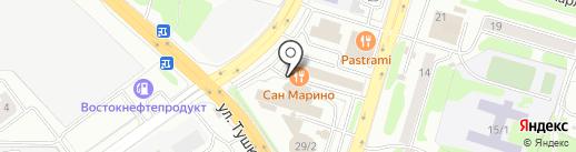 BEAUTY на карте Петропавловска-Камчатского