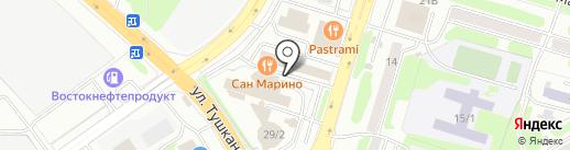 Камчатская дирекция по техническому обеспечению надзора на море на карте Петропавловска-Камчатского
