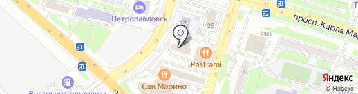 Управление Министерства юстиции РФ по Камчатскому краю на карте Петропавловска-Камчатского