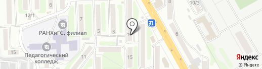 Магазин 102 на карте Петропавловска-Камчатского