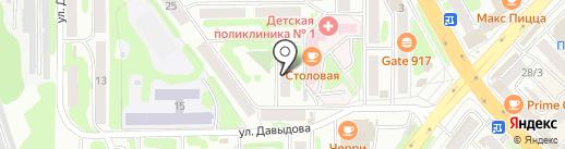 Кам Бизнес Сервис на карте Петропавловска-Камчатского