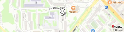 Нар на карте Петропавловска-Камчатского