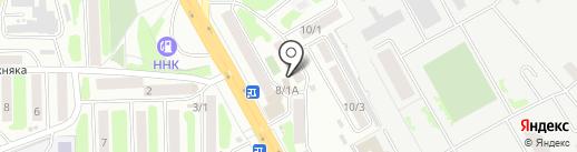 Салон пошива на АЗС на карте Петропавловска-Камчатского