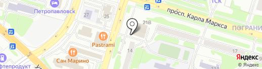 КамчатАкваСервис на карте Петропавловска-Камчатского