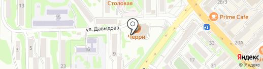 Шамохр на карте Петропавловска-Камчатского