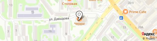 Парикмахерская на карте Петропавловска-Камчатского