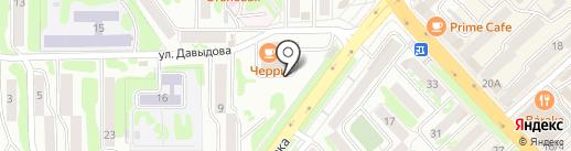 Лорис на карте Петропавловска-Камчатского