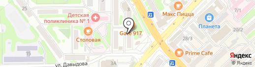 Баланс-Центр на карте Петропавловска-Камчатского